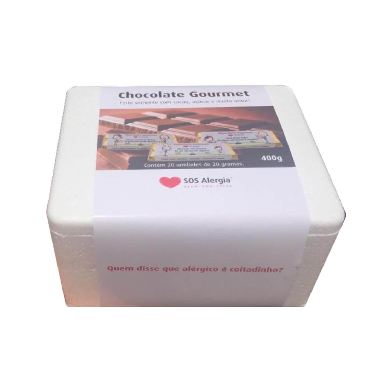 Caixa de Chocolate sem Leite 20 x 20g