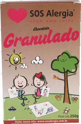 Chocolate Granulado Sem Glúten e Sem Leite 250g
