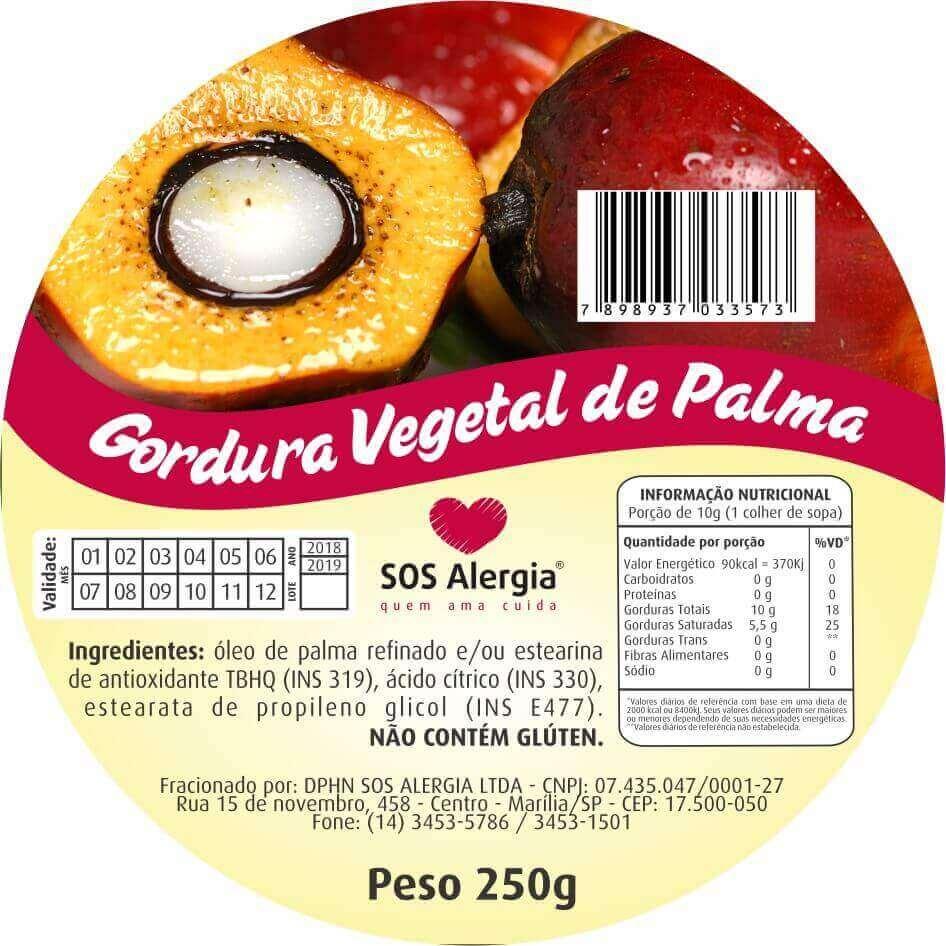 Gordura de Palma 180g