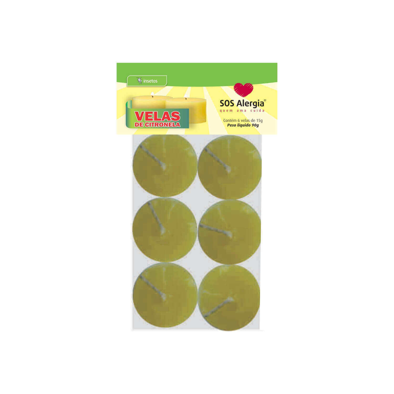 Lamparina de citronela SOS Alergia 90g