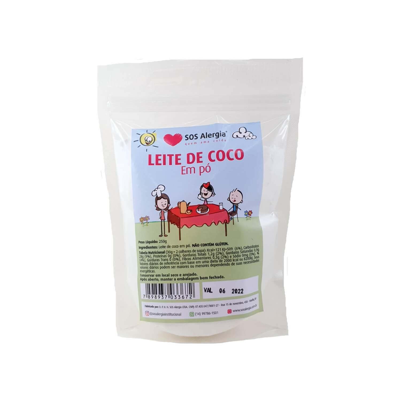 Leite de coco em pó SOS Alergia - 250g