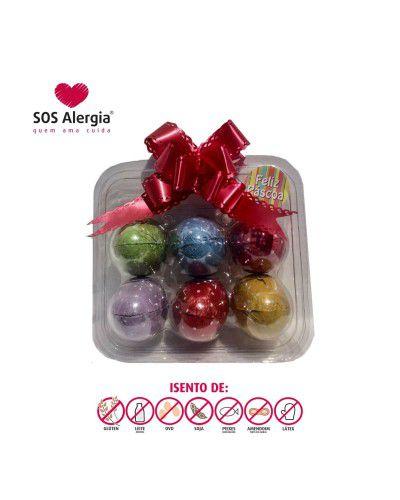 Maleta Chocolate Sem Leite SOS Alergia 6x30g