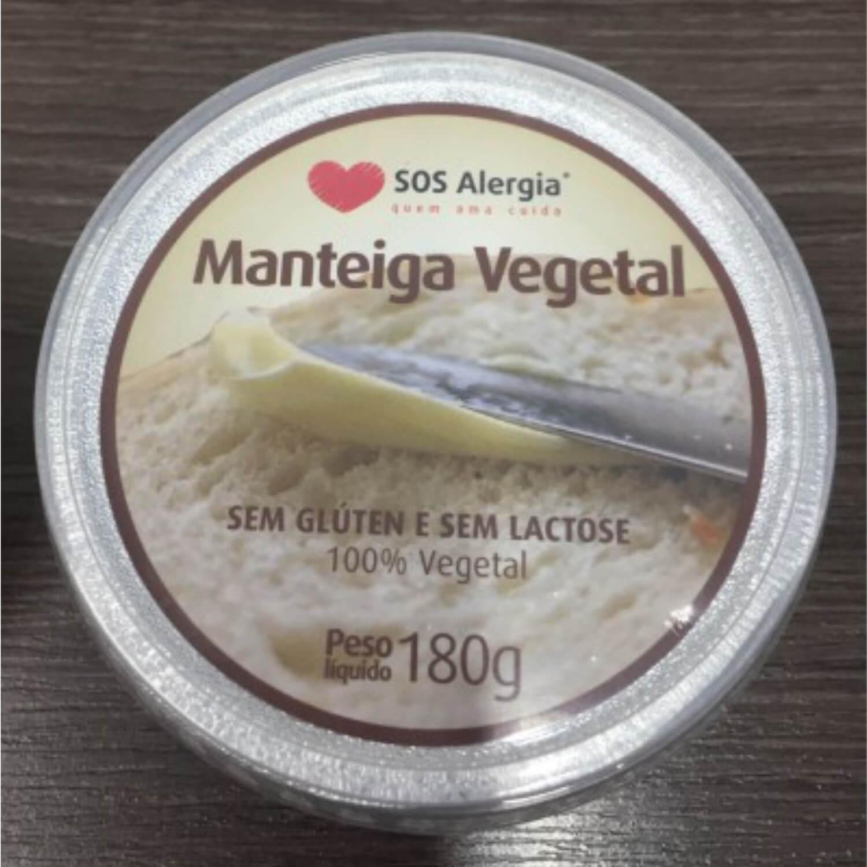Manteiga Vegetal SOS Alergia 180g