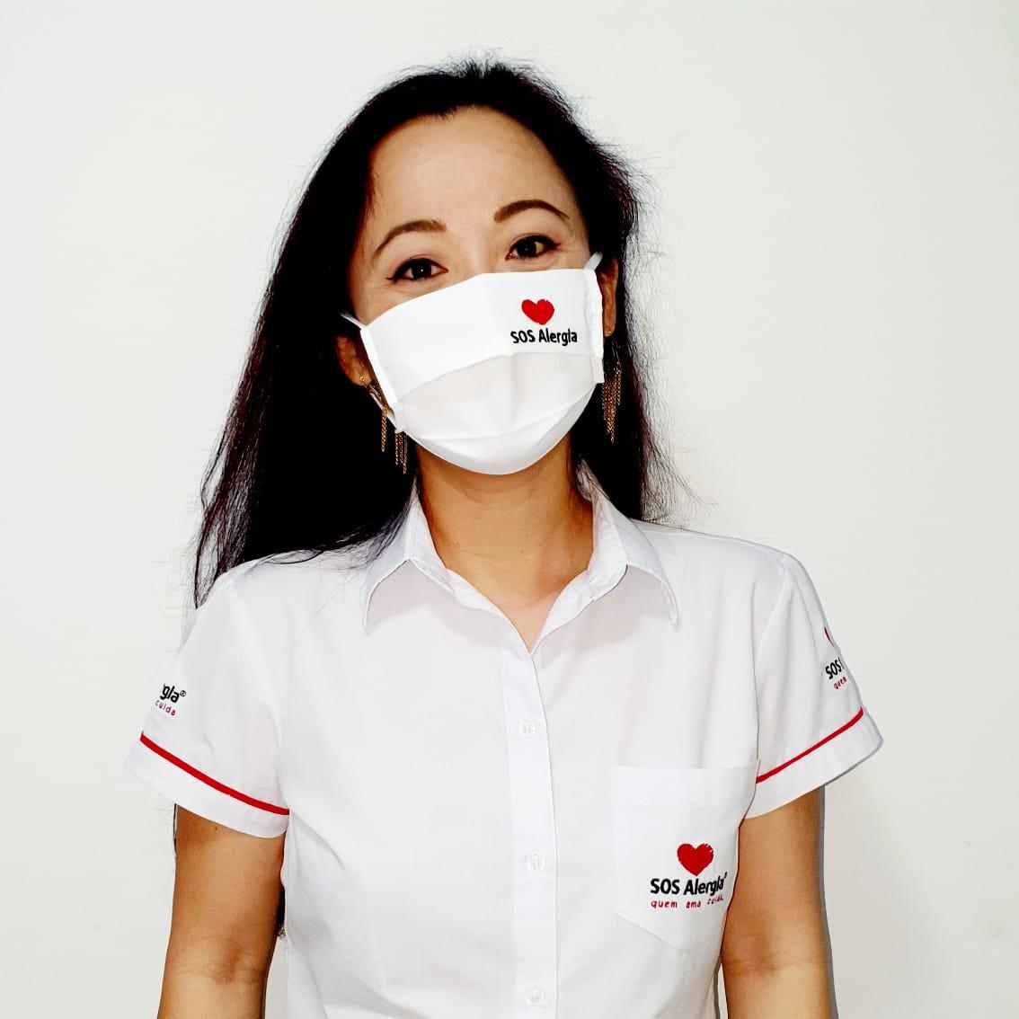 Máscara Personalizada SOS Alergia