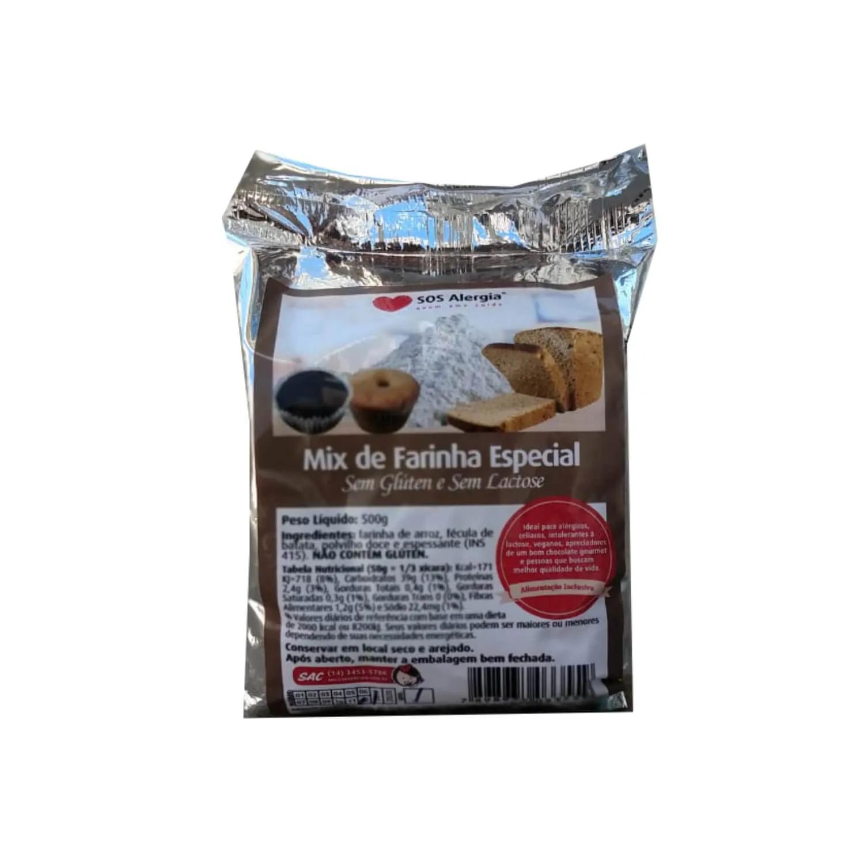 Mix de farinhas sem glúten e sem lactose 500g