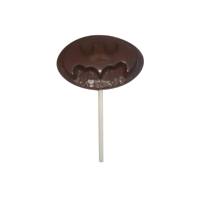 Pirulito de Chocolate Sem Leite 30g Batman