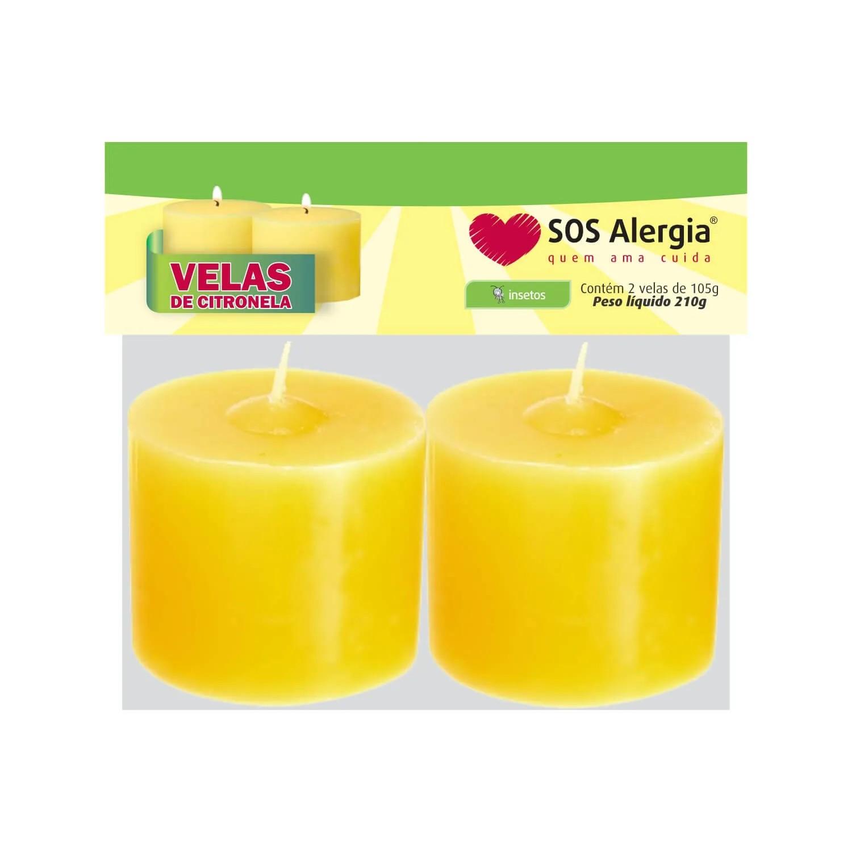 Vela Repelente de citronela 210g