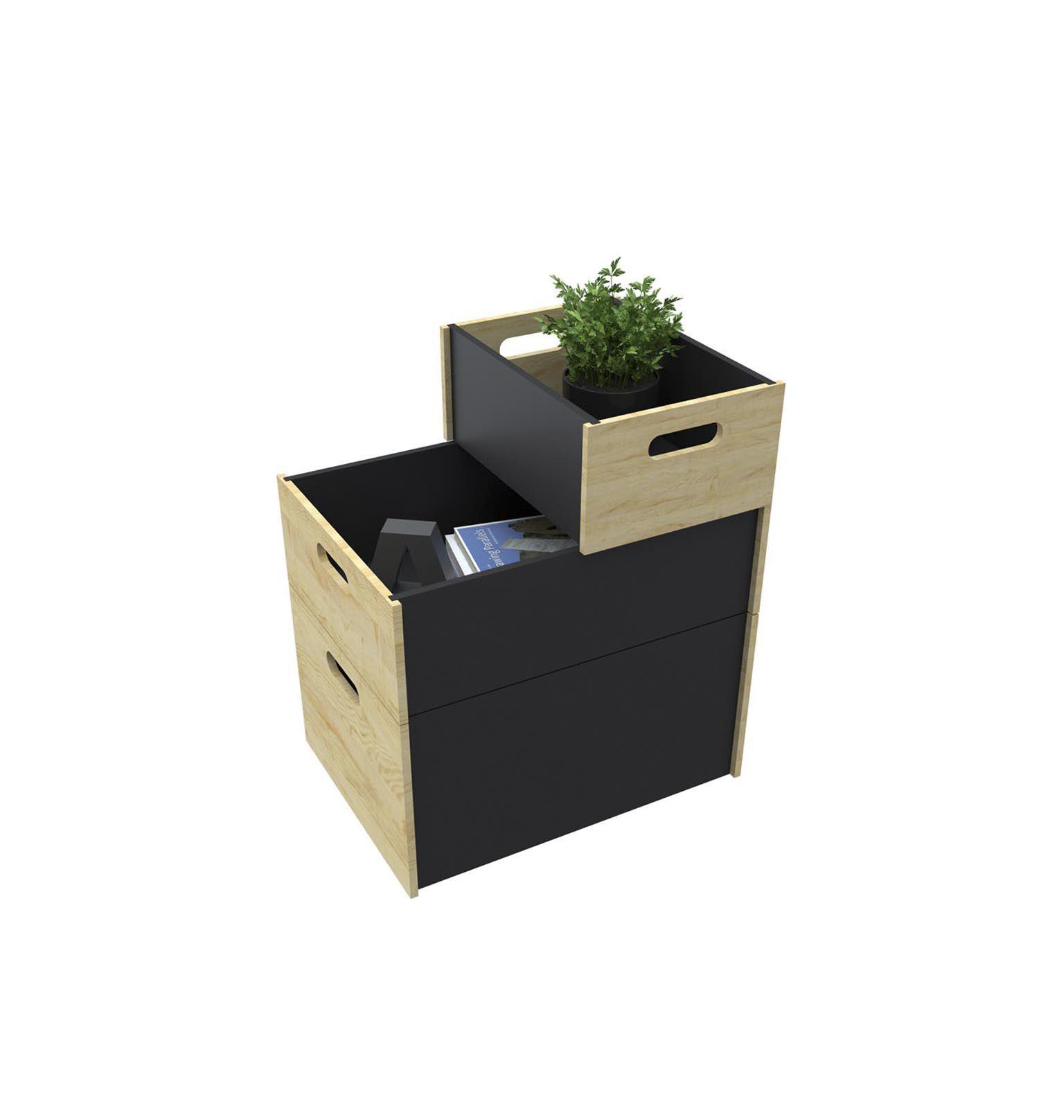 Caixa Organizadora Preta