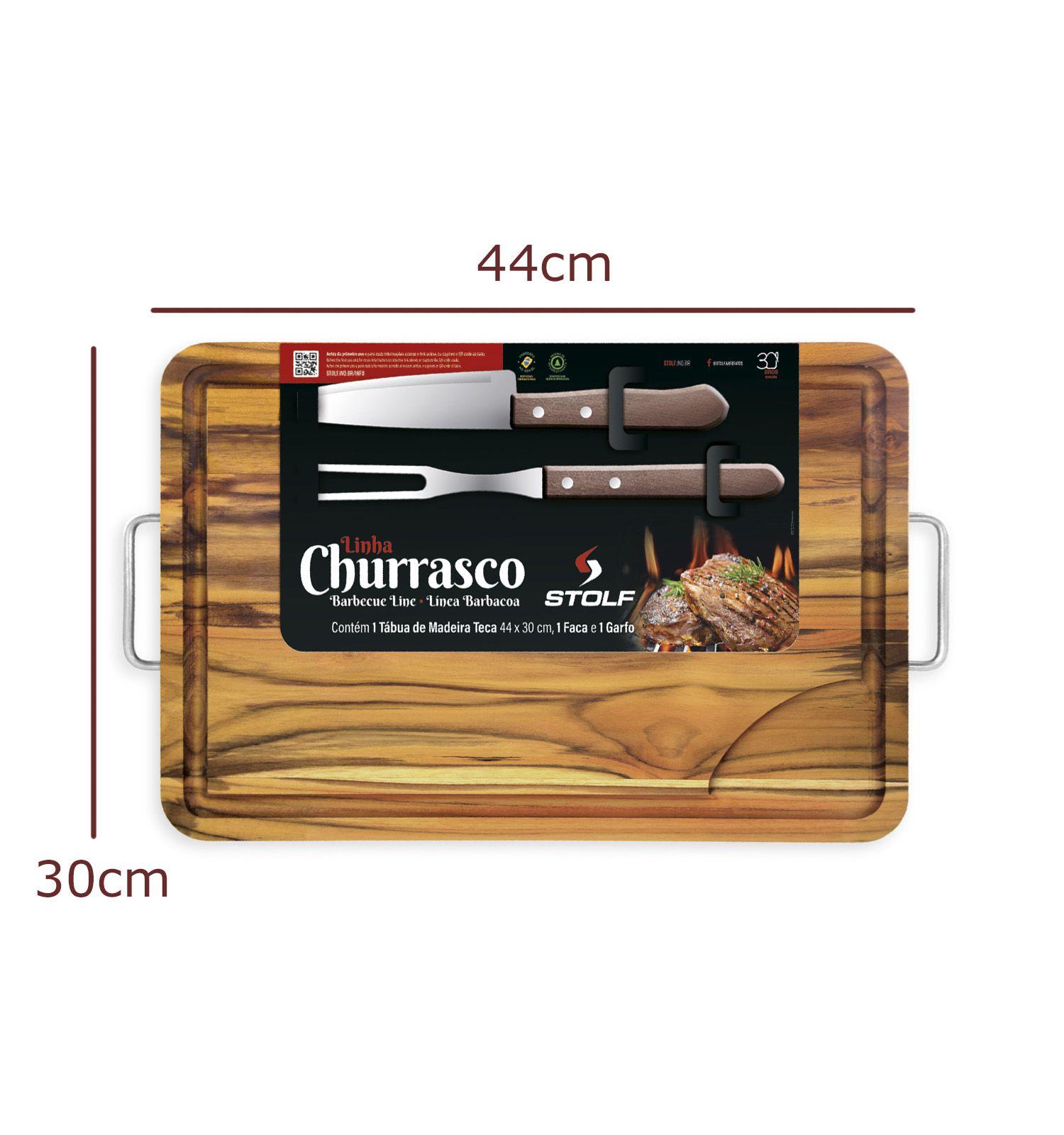Conjunto Churrasco com Garfo e Faca
