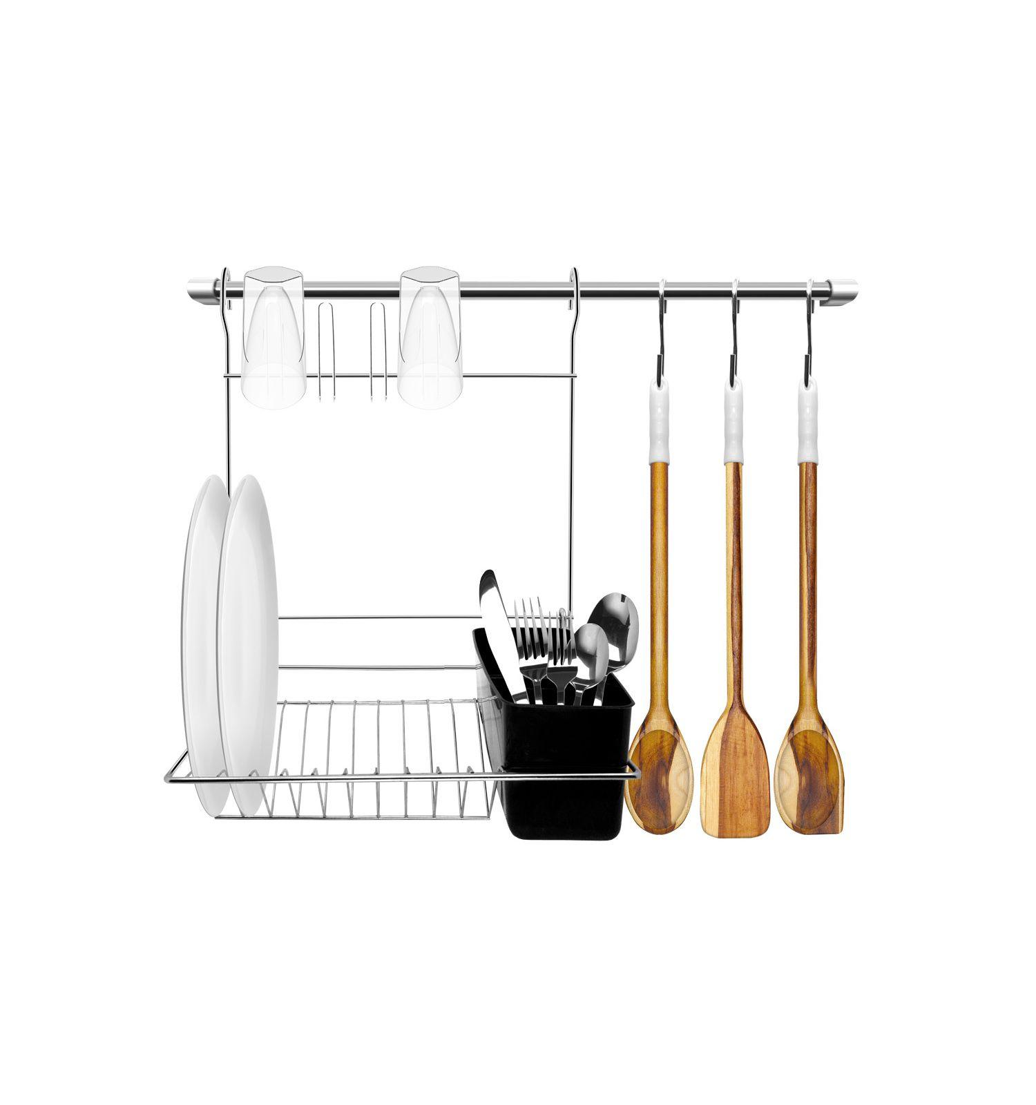 Kit Cozinha Suspensa com Escorredor