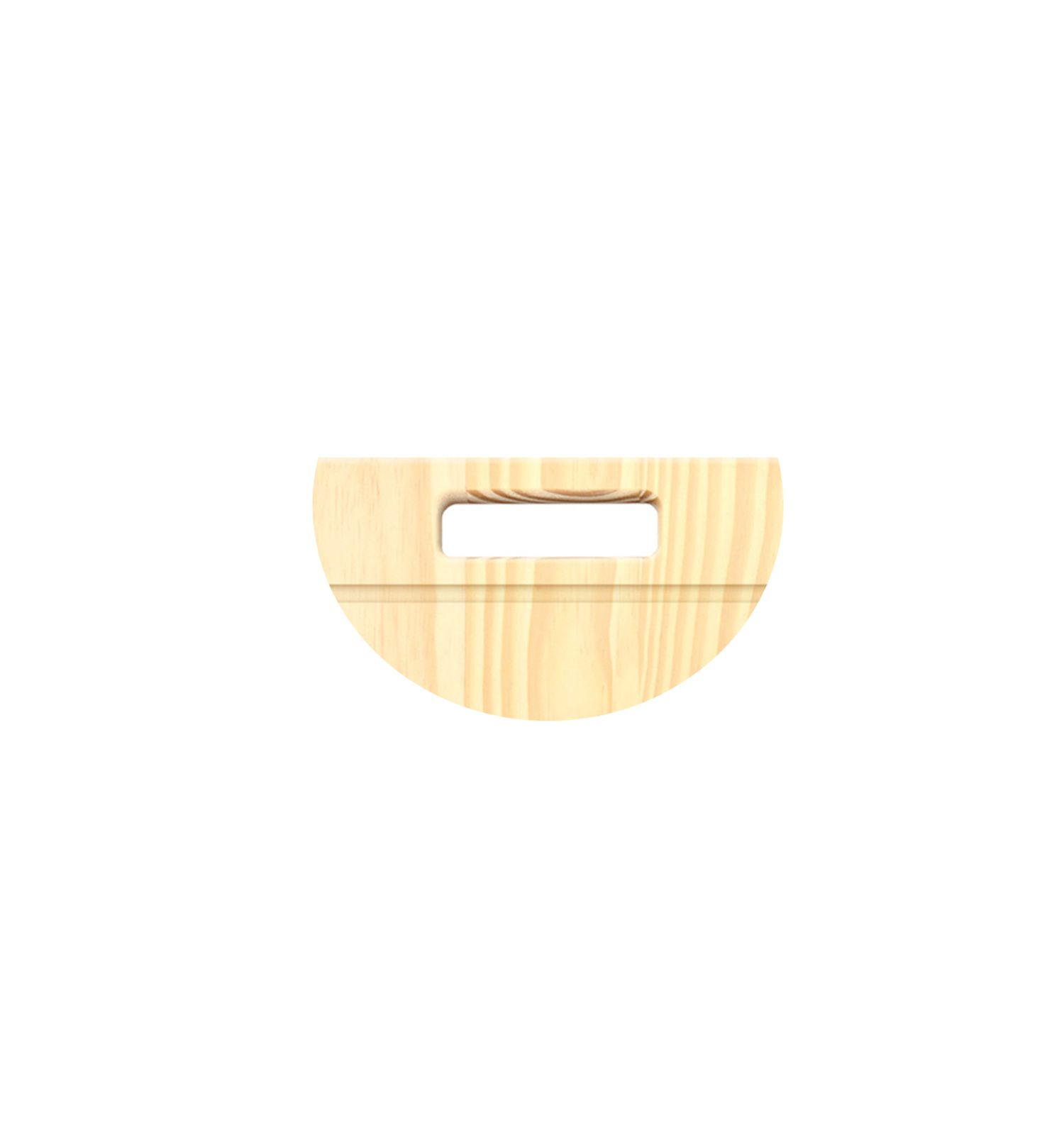 Tabua de Carne Pinus com Canaleta 39x25