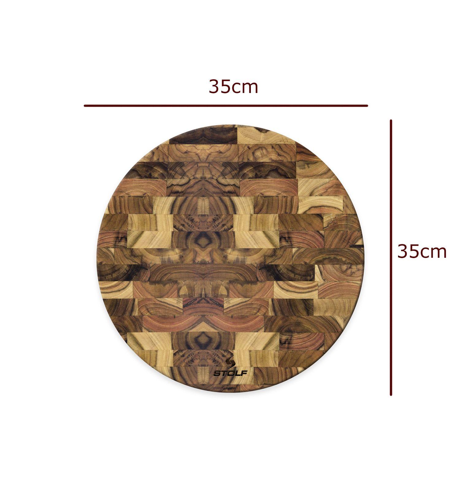 Tabua de Carne Redonda 35x35