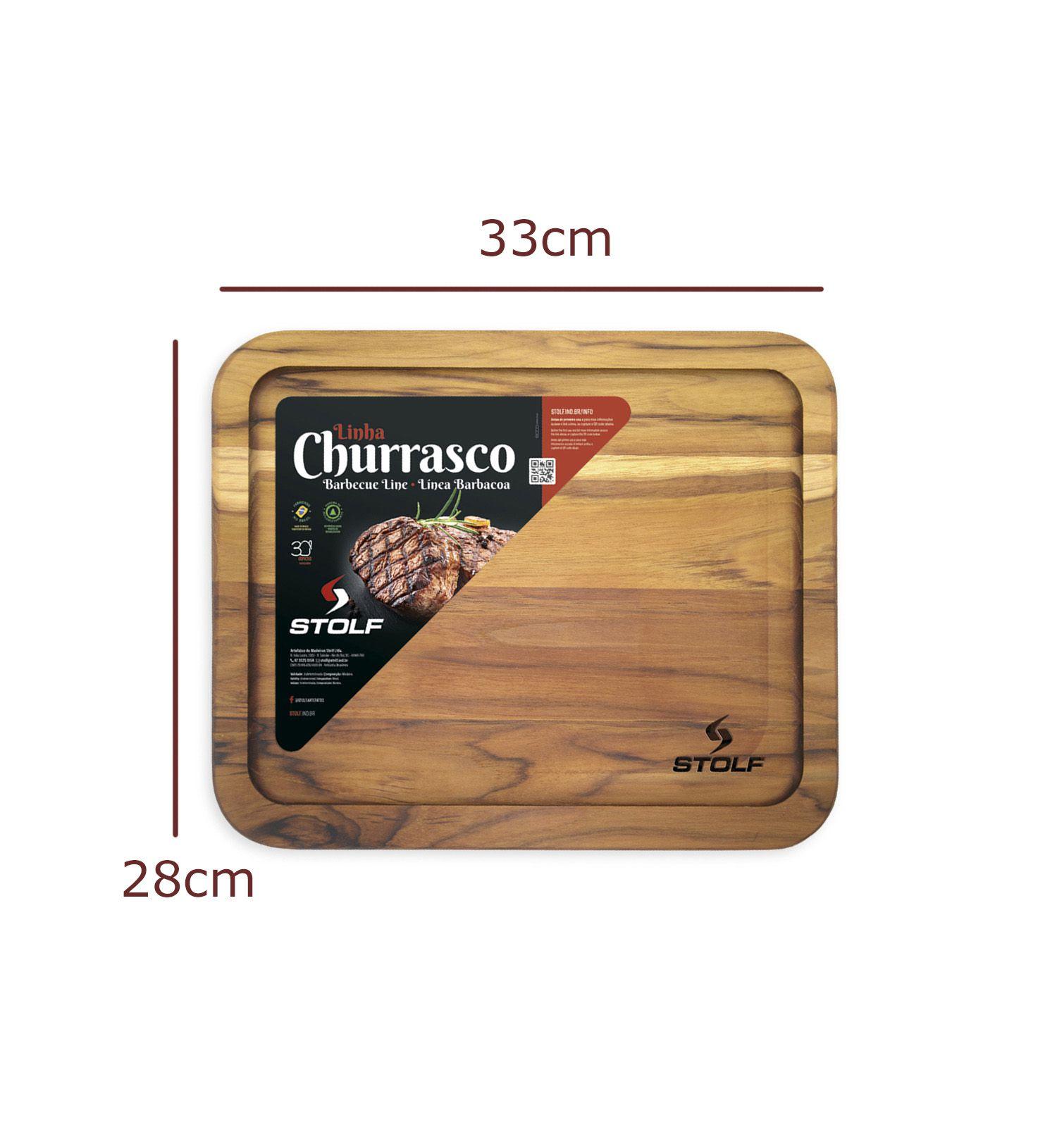 Tabua de Carne Teca Multiúso