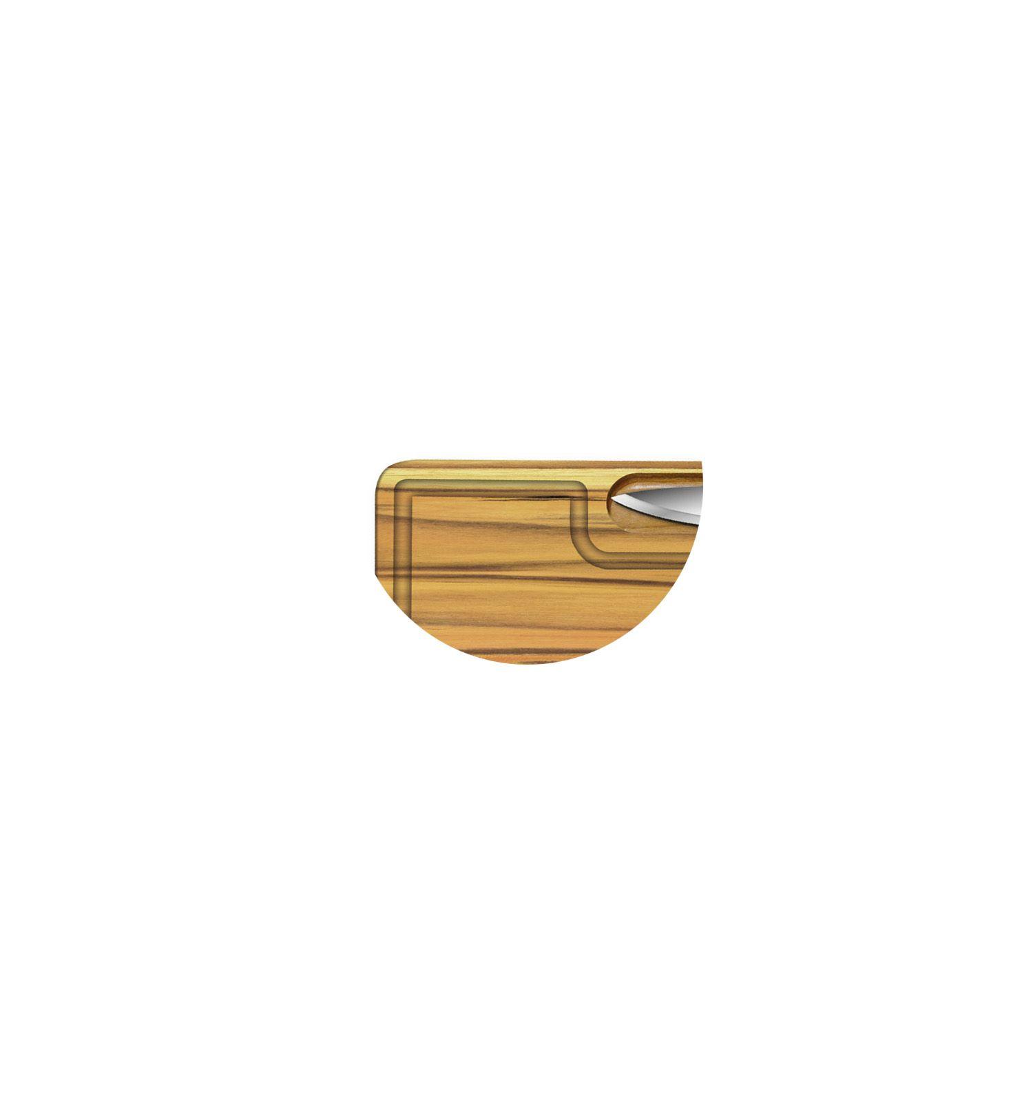Tabua de Madeira com Faca Personalizado
