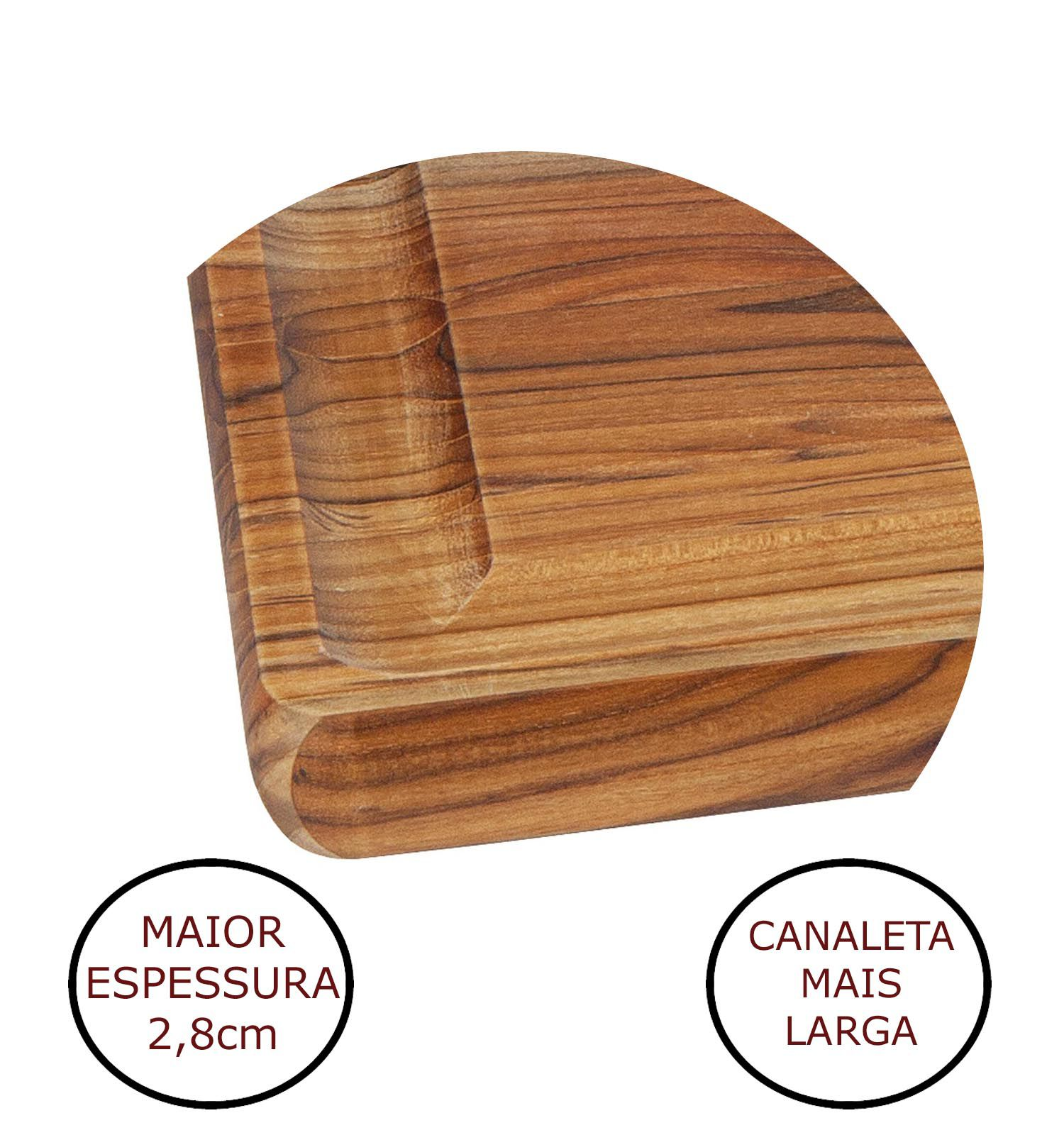 Tabua de Madeira para Churrasco