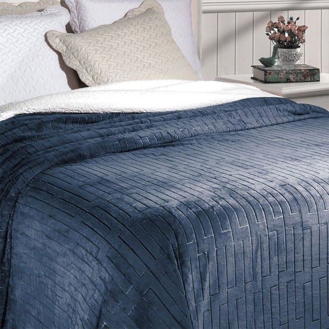 Cobertor Soft Flannel Queen Vermont
