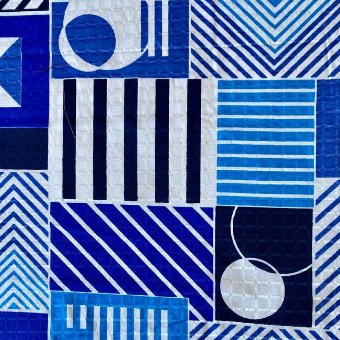 Colcha Texturada Isabela _Casal/Azul2