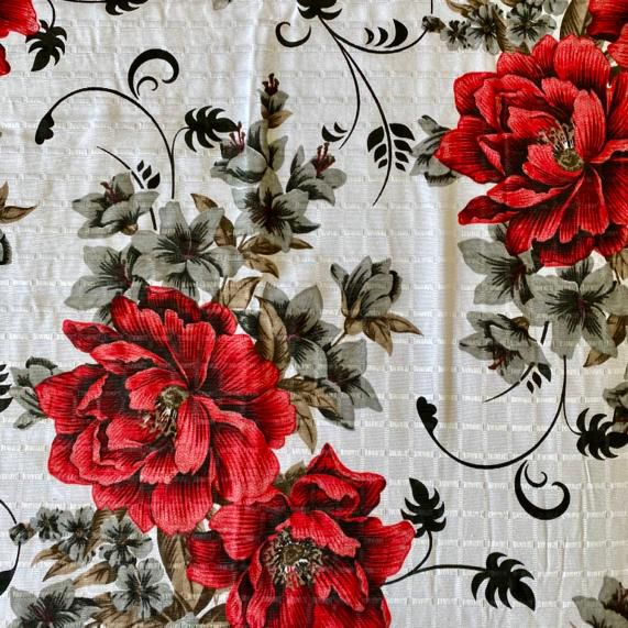 Colcha Texturada Isabela _Casal/vermelho2