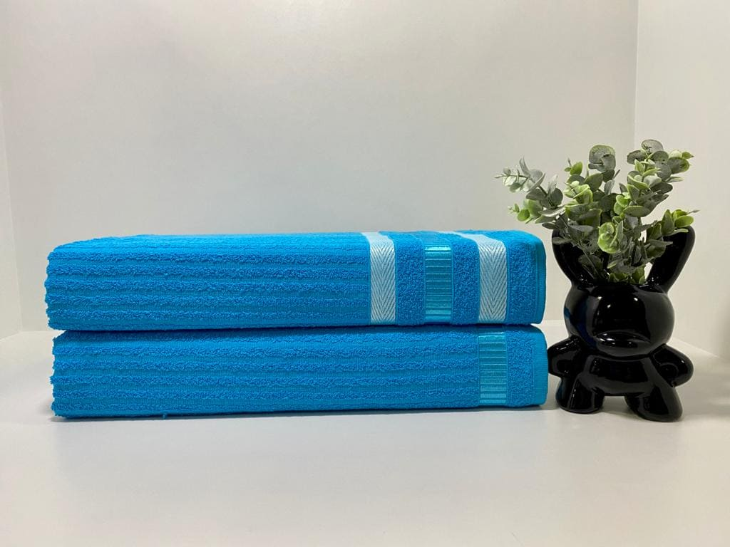Toalha de Banho King Isabela ( Azul 01)