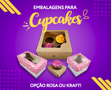 mini banner - cupcakes