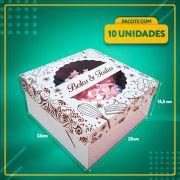 Embalagem com visor para Bolos e Tortas Nº33 (até 2,5 Kg)