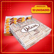 Embalagem para até 50 doces ou salgados