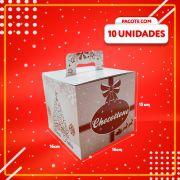 Embalagem para Chocottone com Alça (500g)