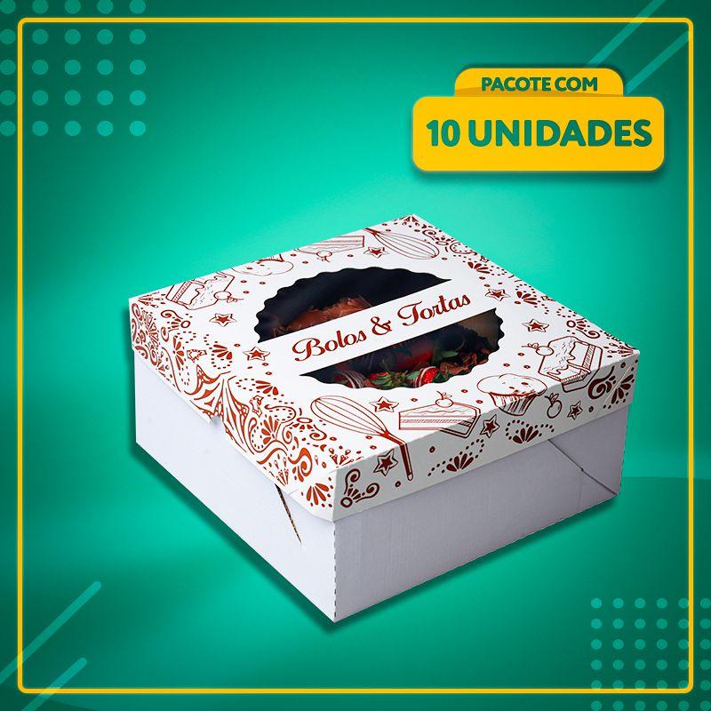 Embalagem com visor para Bolos e Tortas nº26 (até 1,5 Kg)
