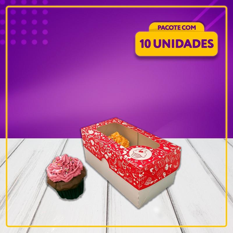 Embalagem para 2 Cupcakes
