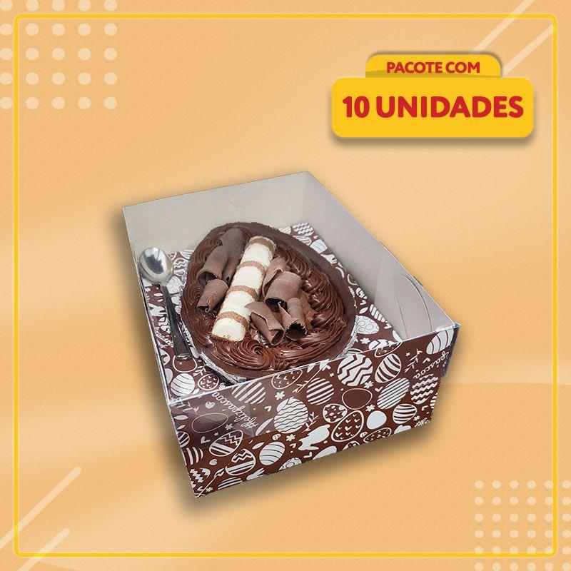 Embalagem para Ovo de Colher 500g (Acetato)