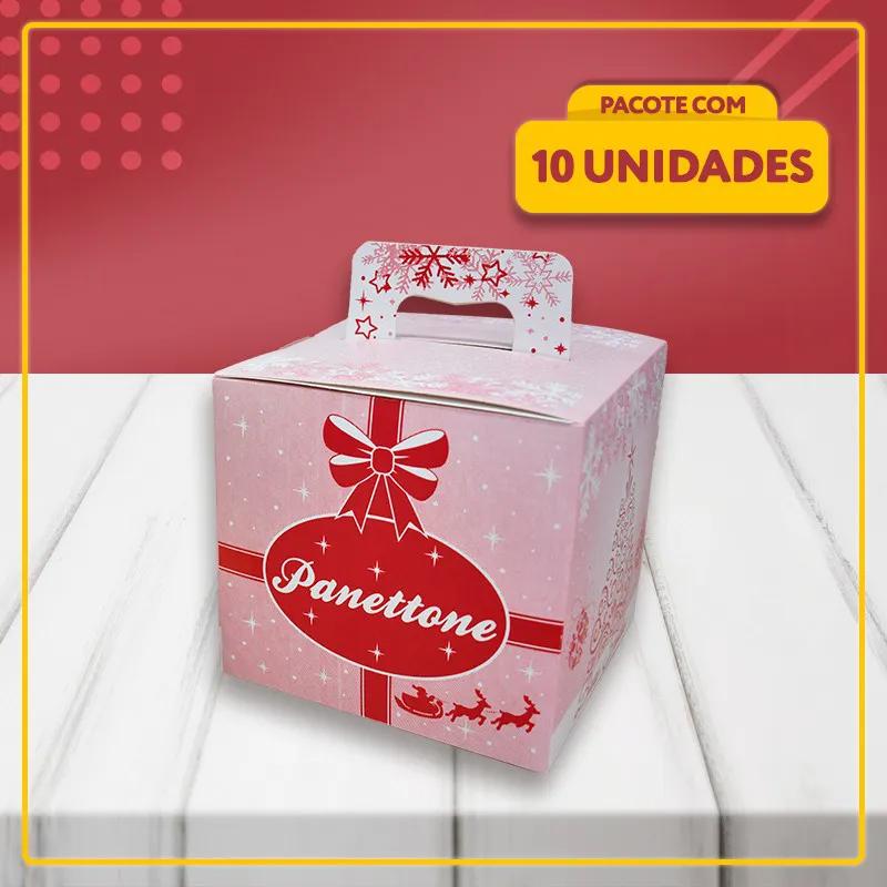 Embalagem para Panetone com Alça (500g)