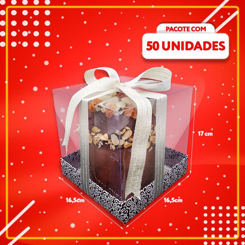 Embalagem para Panetone Gourmet (50 UNIDADES)