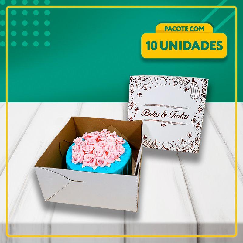 Embalagens para Bolos e Tortas (3 Tamanhos)