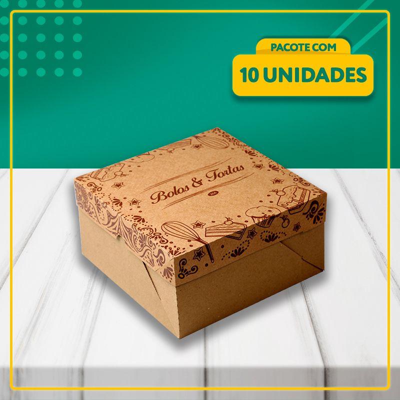 Embalagens para Bolos e Tortas KRAFT (3 Tamanhos)