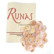 Runas de Quartzo Rosa com Manual