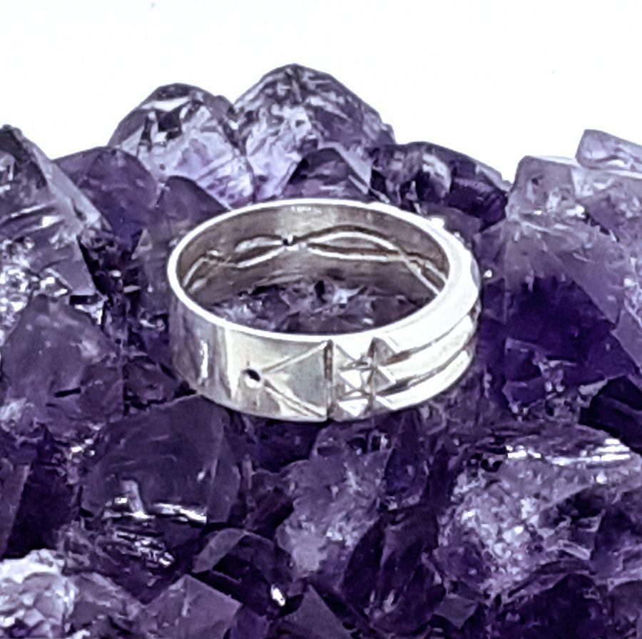 Anel Atlante de Proteção em Prata 925  - VIRAJ