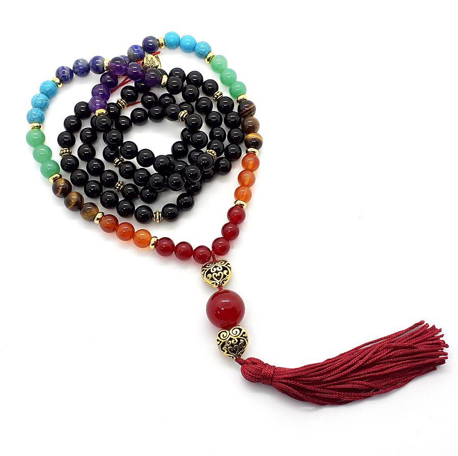 Japamala 7 Chakras do Poder e Organização  - VIRAJ