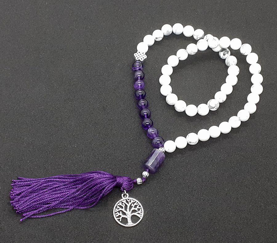 Japamala Master da Inspiração e Transmutação (54 contas)  - VIRAJ