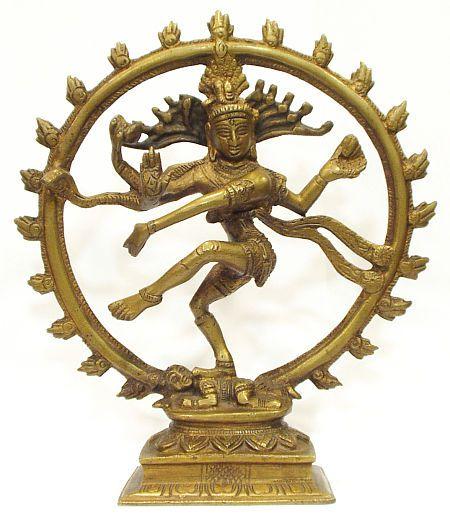 Nataraja em bronze (21 cm)  - VIRAJ