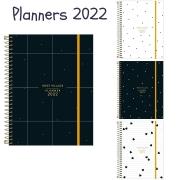 Agenda Planner Espiral West Village 2022 M7 - Tilibra