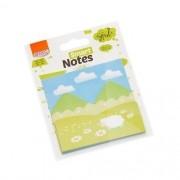 Bloco Auto-Adesivo Smart Notes Montanha 3 Unid. com 20 Folhas Cada BRW