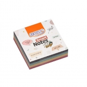 Bloco de Anotações Adesivo Smart Notes 4 Cores Vintage 200 Folhas de 76x76mm - BRW