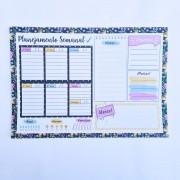 Bloco de Anotações com 55 folhas Planejamento Semanal Win Paper