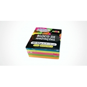 Bloco de Anotações Linha Neon com 250 Folhas 50mm x 50mm - BRW