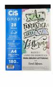 Bloco / Livro de Exercícios para Brush Lettering - Cis