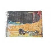 Caderno de Cartografia e Desenho Capa Dura - Brimpress