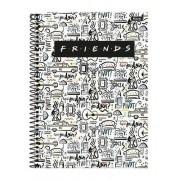 Caderno Friends Central Perk 10 Matérias Foroni