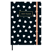 Caderno Pontilhado Fitto M West Village 80 folhas - Tilibra