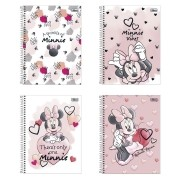 Caderno Universitário 10 Matérias Minnie Mouse - Tilibra