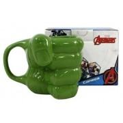 Caneca Formato Mão - Hulk